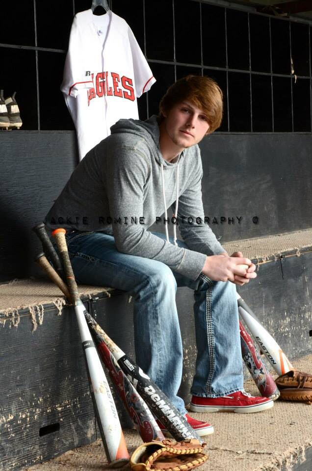 Senior baseball (C) Jackie Romine Photography