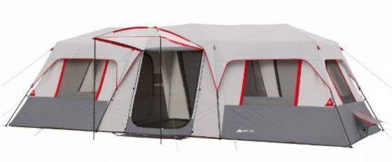 Ozark Trail 15 person instant tent with 3 rooms is a summer camping family tent which offers more than 23 m² of the floor area. So this is a luxurious camping option with a very affordable price. #tents, #camping, #familycampingtents, #outdoors, #outdoore