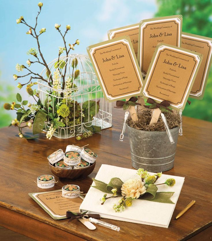 craft ideas for wedding place cards%0A Having an outdoor wedding  Make these rustic inspired DIY wedding favors
