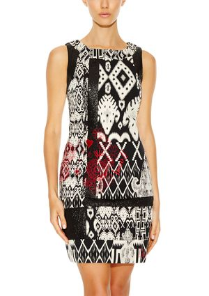 On ideel: DESIGUAL Sleeveless Printed Dress