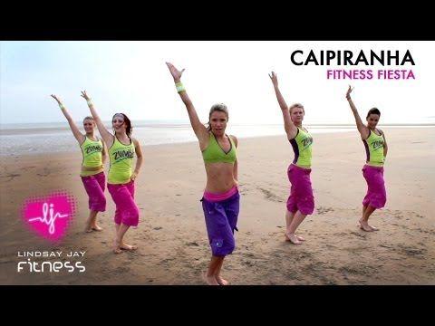 ▶ ZUMBA - CAIPIRINHA - FITNESS FIESTA - YouTube
