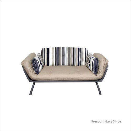 Wonderful Twin American Furniture Alliance Mali Flex Stripe Futon Combo With Pewter  Frame By American Furniture Alliance