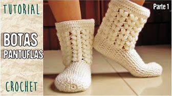 Suela Para Zapatos - Tejidos a Crochet Para Niño(a) de 18 a 24 meses - YouTube
