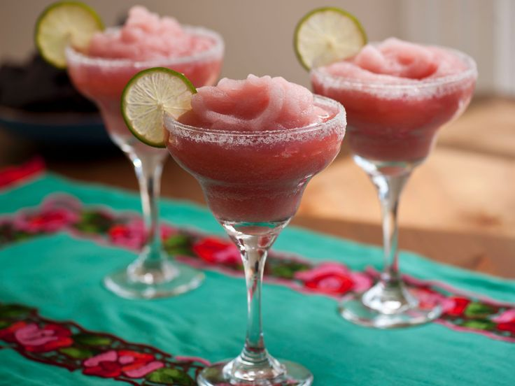 Pomegranate Margarita : Wash down tacos with Tyler's margarita that's blended with pomegranate juice.