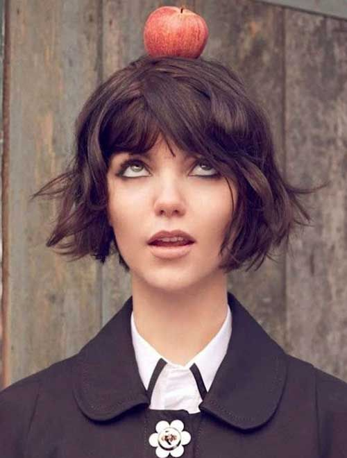 15 Short Blunt Haircuts | http://www.short-hairstyles.co/15-short-blunt-haircuts.html