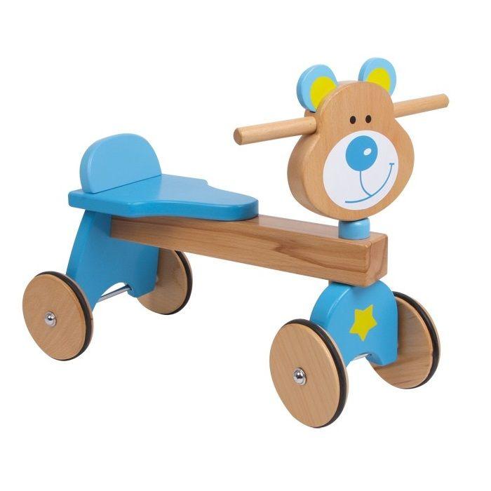 osito de madera walker para nios sin pedales para entrenar la motricidadu