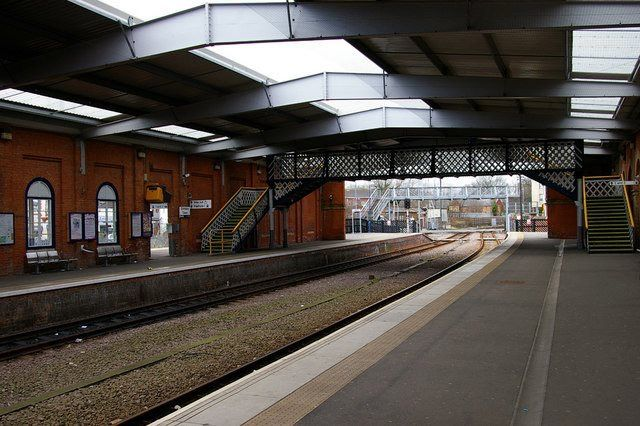 Grimsby Town Train Station Grimsby North Lincolnshire England