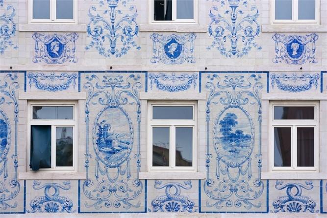 Lisbona letteraria nei suoi scorci più belli - VanityFair.it, Tiles, Azulejos, Fachada, Lisbon, Portugal