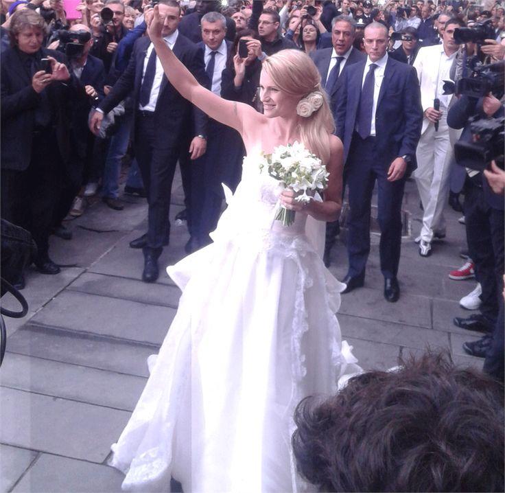 Michelle Hunziker e Tomaso Trussardi, oggi sposi - VanityFair.it