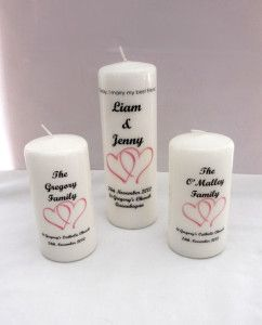 Candles_Unity Candle_double heart motif