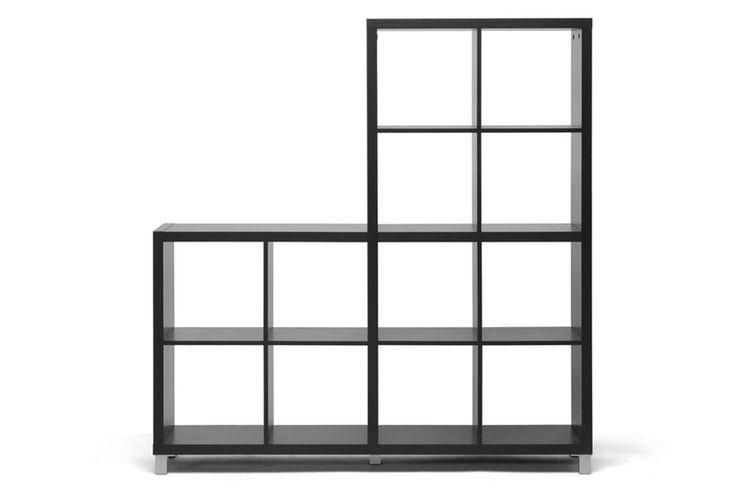 Baxton Studio Sunna Dark Brown Modern Cube Shelving Unit | Wholesale Interiors