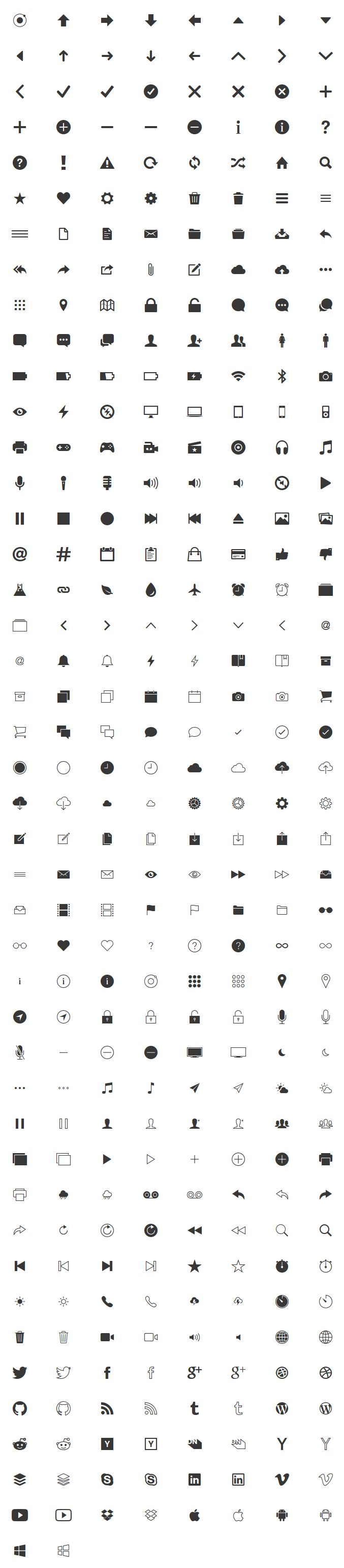 119 best free icons images on pinterest design web icon design ionicons icon font hexwebz Choice Image