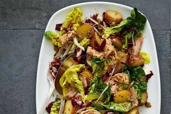 Tuna and Potato Salad with Lemon-Caper Dressing