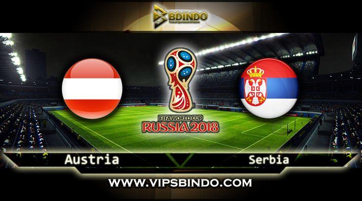 Vipsbindo Agen Bola Online pada artikel ini kembali memberi panduan serta perkiraan untuk Football Lovers untuk kompetisi Zona World Cup Qualifiers kesempatan ini pada Austria vs Serbia 7 Oktober 2017 kompetisi ini berjalan pada jam 01:45 WIB.