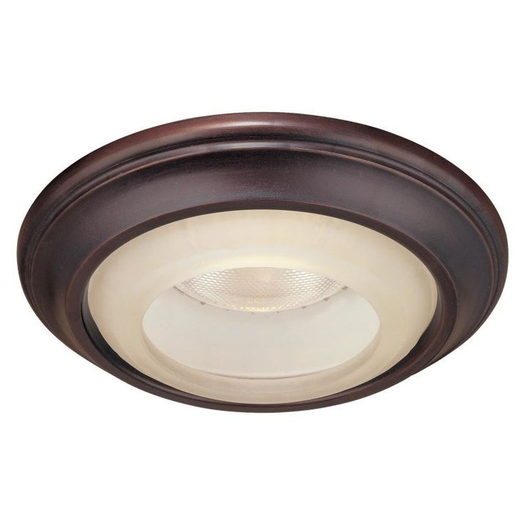 "Minka Lavery 2718 6"" Decorative Recessed Trim with Etched Marble Glass from the Lathan Bronze / Etched Glass Recessed Lights Recessed Trims Decorative"