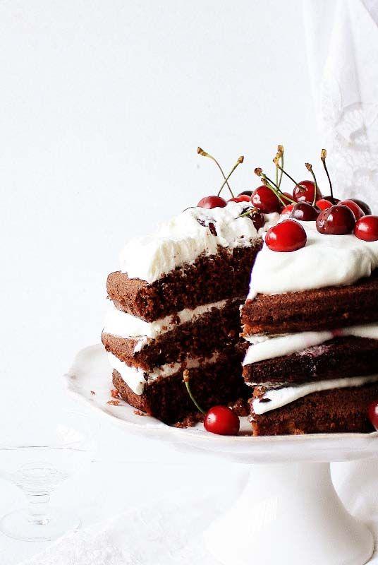 ... bolo de chocolate ...