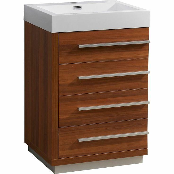 Modern 24 Single Sink Bathroom Vanity Plum Small Bathroom Remodel P