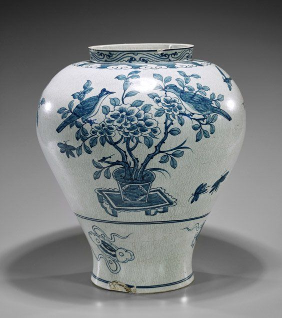 59 Best Korean Blue And White Porcelain Images On