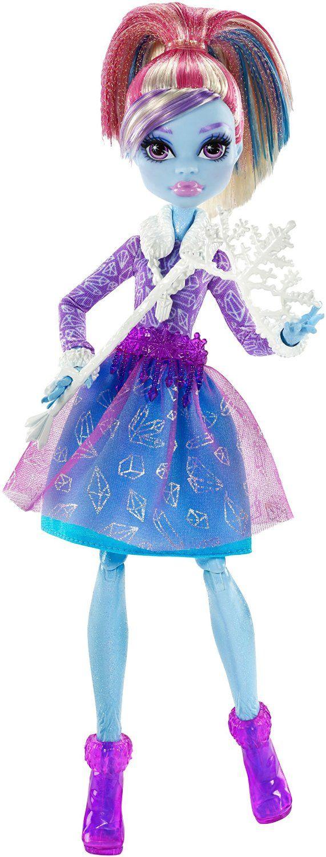 """Protótipos da Abbey Bominable - Dance The Fright Away (Caixa pequena, exclusiva). Coleção do próximo filme de Monster High """"Bem-vindo a Monster High"""", com estreia prevista para 24 de Outubro de..."""