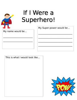 my hero writing paper Students select, read about, and report on a hero and then identify how their hero  matches  lists these ideas on chart paper, transparency, or white board using  the following format:  my behavior reflected a characteristic associated with a  hero when  ask students to write a response to the following in their journal.