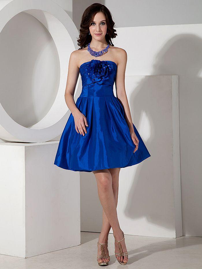 58 best blue bridesmaid dresses images on Pinterest | Blue ...