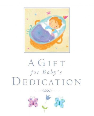 A Gift for a Baby's Dedication