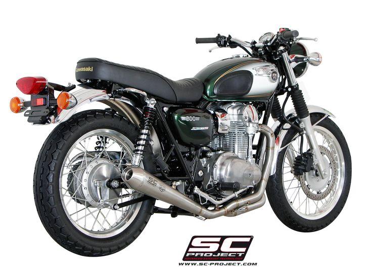 KAWASAKI W800 EXHAUST BY SC-PROJECT