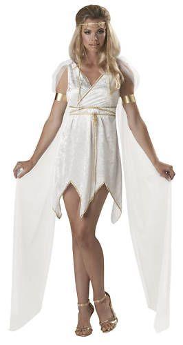 New Women Sexy Athena Greek Goddess Halloween Costume