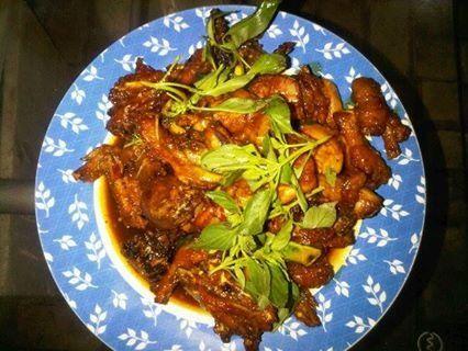 Woku Chicken ala Chef Hubby ;)