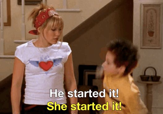 "Basically every time Lizzie and Matt got into a fight. | 19 Times ""Lizzie McGuire"" Was The Realest Teen Show On TV"