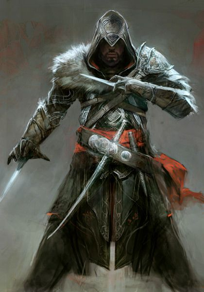 Assassin's Creed: Revelations. Love the Mongolian fur on ...