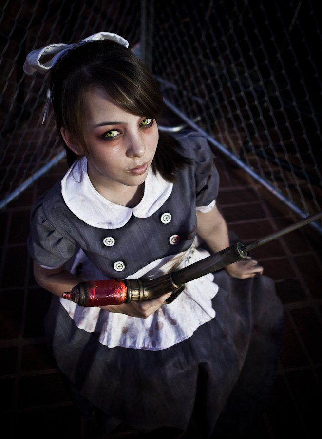 Amazing Bioshock Little Sister Cosplay Gallery - Monika Lee
