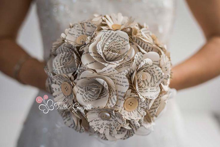 17 migliori idee su bouquet di fiori di carta su pinterest - I diversi tipi di carta ...