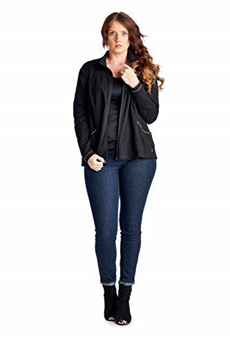 Plus Size Activewear Jackets for Women