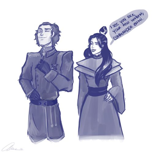 love-legend-of-korra:    New Uniform by annogueras