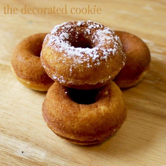 babycakes donuts with trail mix and basic recipe add nutmeg