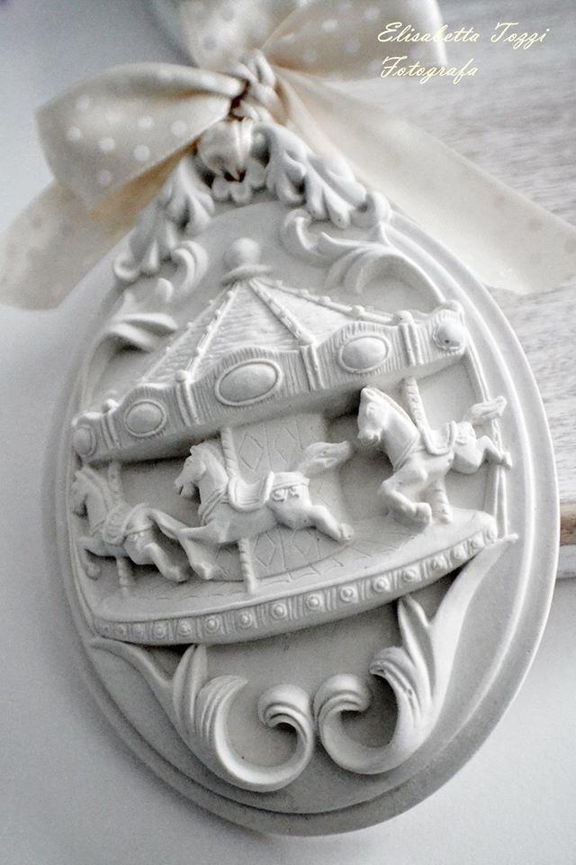 gessetti profumati segnaposto bomboniera battesimo : Accessori casa di armonia-di-profumi