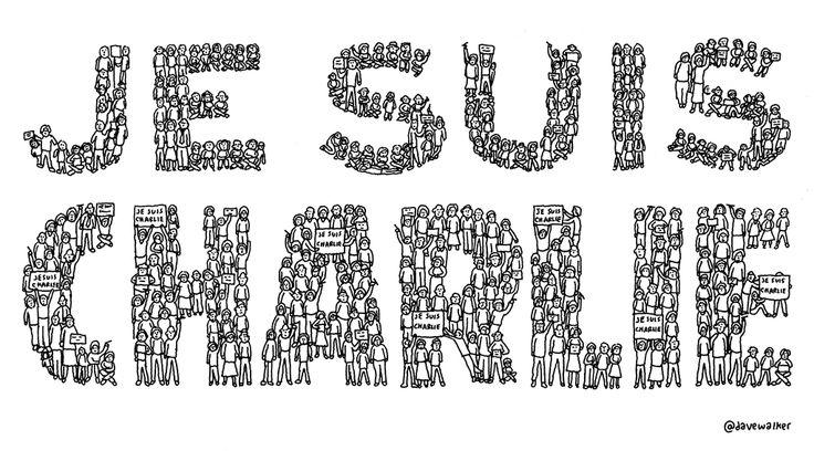 Yesterday's cartoon: #JeSuisCharlie http://davewalker.cc/je-suis-charlie/ …