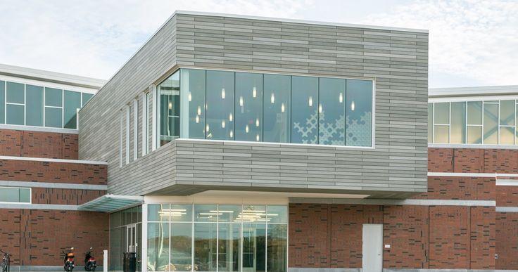 UConn Basketball Development Center TAKTL Facade Panels