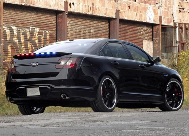 2010 Ford Stealth Police Interceptor Concept Ford police