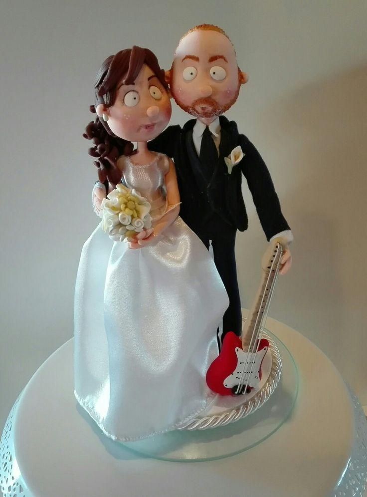#quisquilie #caketopper Hub #pastadimais #wedding