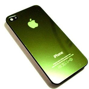 Back Shiny Green Case for Apple iPhone 4 just CA$9.99 check for more: http://bit.ly/1QgTJZ6
