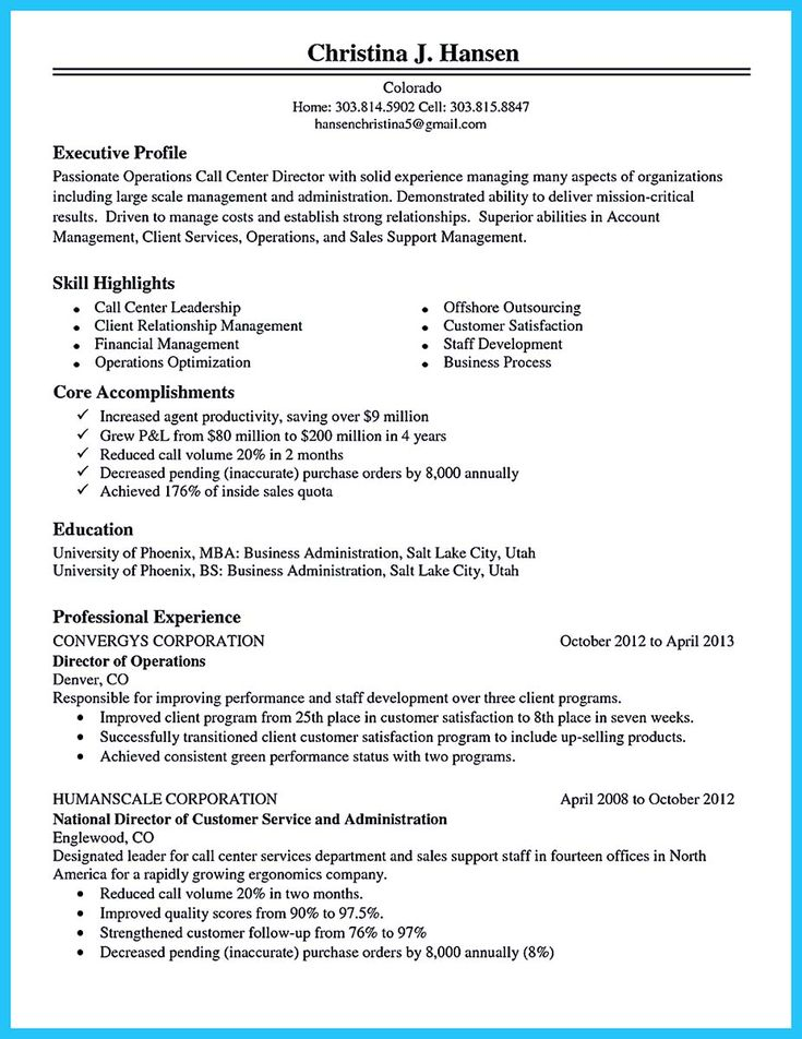 awesome Cool Information and Facts for Your Best Call Center Resume Sample, Check more at http://snefci.org/cool-information-and-facts-for-your-best-call-center-resume-sample