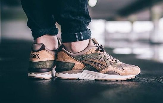 Kicks Lab x Asics Gel Lyte V 'Phys Ed'