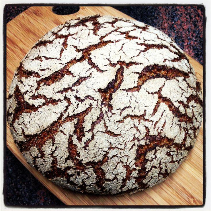 Fresh #Raimugido sourdough rye bread.