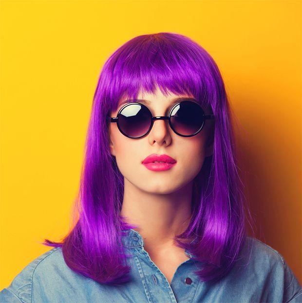 Dizem que as pessoas criativas e excêntricas são atraídas pelo roxo justamente por ele ser tão original.