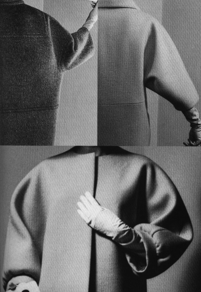 Balenciaga. This is the infamous one seam coat.