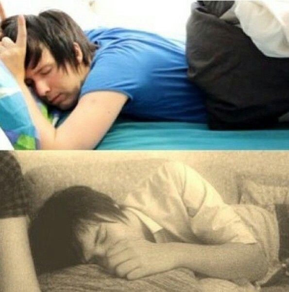 Dan and Phil sleeping is cute