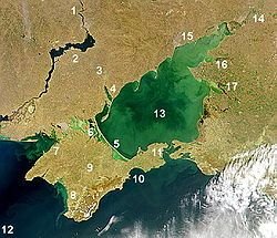 Sea of Azov - Wikipedia, the free encyclopedia