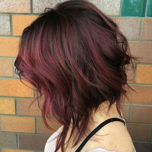 Balanço da coloração do cabelo